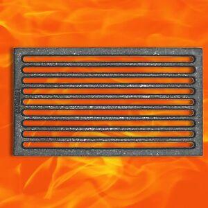 Premium Ofenrost Gussrost 16 x 28 cm Kamin Ascherost Kaminrost Tafelrost