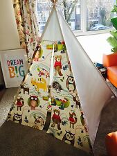 Nature trail Themed fabric - Beautiful WIGWAM, TEEPEE, PLAY TENT Ideal Gift!