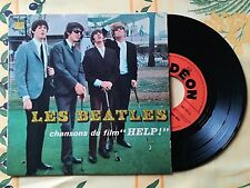BEATLES ANOTHER GIRL / HELP EP 45 FRANCE ODEON SOE 3771