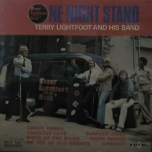 TERRY LIGHTFOOT & HIS BAND  LP  ONE NIGHT STAND