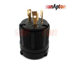 NEMA L6-30P L630P Industrial Twist Lock Male Locking Plug 30A 250V 3-Wire 2-Pole