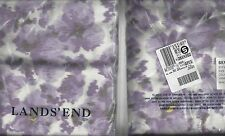 Flannel king size pillow sham heavy 5 ounce 20 x 36 by Lands End- New in package