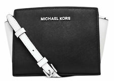 Michael Kors MINI Selma Saffiano Leather Messenger Crossbody Bag