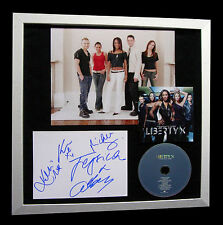 LIBERTY X+SIGNED+FRAMED+THINKING IT OVER+JUST=100% AUTHENTIC+EXPRESS GLOBAL SHIP