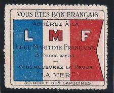 Vignette - LMF-Ligue Maritime Française   éditeur de la revue La mer