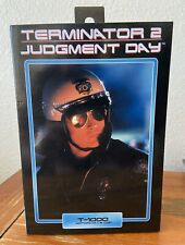"NECA Terminator 2 Judgement Day T-1000 Motorcycle Cop 7"" New"