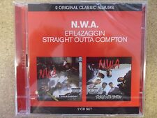 N.W.A - Straight Outta Compton / Niggaz4life (Efil4zaggin) New & Sealed 2CD