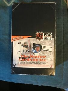 NEW FACTORY SEALED NHL 1991 Pro Set Edition Hockey Cards Box of 36 Packs