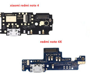 2/4pcs USB Micro Plug Charging Board Port Flex Cable For Xiaomi Redmi Note 4 4x