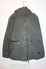 H&M Men's Jacket Full Zip Hooded 100% Cotton Size XL