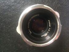 Carl Zeiss Contarex Planar 50mm f 1:2 lens