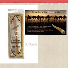 3 Pack miswaak Miswak Meswak (Sewak, arak, Siwak, Naturale Spazzolino da denti) al Salah