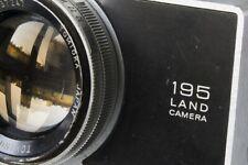 Polaroid Land Camera 195 Tomioka Tominon 3,8/114 Seiko shutter