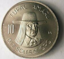1975 PERU 10 SOLES - AU/UNC - Collectible Coin BIN PPP