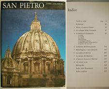 Lees-Milne SAN PIETRO La Storia della Basilica in Roma 1967 Ancora Storia Arte