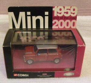 CORGI LTD EDT DIECAST MODEL  * MINI 1959-2000 END OF THE ROAD * 04509 - BOXED