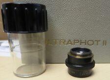 Genuine Carl Zeiss Microscope objective Lens 40mm 1:4,5 Luminar Macro w/lid