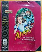 Alice Adventures In Wonder Land Windows PC 95 CD-ROM Computer Game Sealed NIB