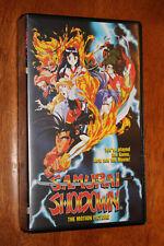 RARE ANIME VHS SAMURAI SHOWDOWN NEO GEO 3DO SNES SEGA GENESIS XBOX PS2 Wii ADV