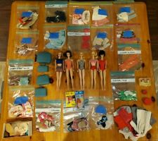 Vintage Lot Of Barbie Dolls, Clothes, Shoes, And Accessories...NICE!