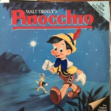 Pinocchio CAV / Walt Disney  - LASERDISC  Buy 6 for free shipping