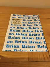 BRIAN - 2 Sheets of Gift Wrap - Personalised  Wrapping Paper