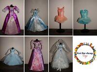 Disney Princess Barbie doll ball gown dress ballerina outfit clothes Rapunzel
