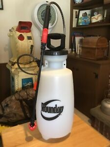 Roundup 2 gallon multi nozzle sprayer