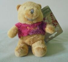 DISNEY WINNIE THE POOH LOVED BY NATURE PLUSH KEYRING NWT
