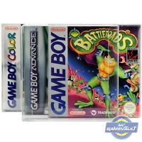 10 x Gameboy Box Protectors For Game Boy Color Advance STRONG 0.5mm Plastic Case