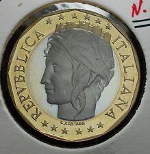 1998  Repubblica Italiana 1000  lire  FONDO SPECCHIO  da divisionale