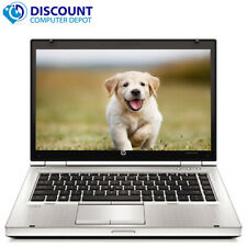 "HP Elitebook 8460p 14"" Laptop Computer PC i7 3.4GHz 4GB 250GB Windows 10 Home"