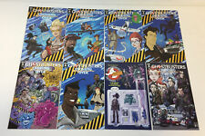 IDW comics GHOSTBUSTERS CROSSING OVER #1 2 3 4 5 6 7 8 ~ FULL SET