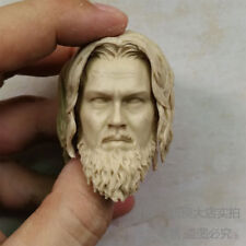 1/6 scale blank Head Sculpt The Revenant Leonardo DiCaprio The Hunter unpainted