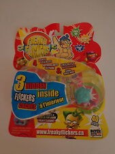 Freaky Flickers Turquoise 3 Hidden Stickers Checklist Interactive Toy Sealed