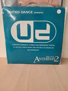 Various  United Dance Presents 88 92 Anthems 2 12 Inch Moby Go