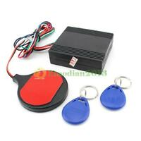 Car Engine Push Start Button/RFID Burglar Alarm Lock Keyless Entry Immobilizer