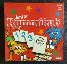RUMMIKUB Junior Game by IDEAL Age 4+ / 2-4 Players Complete & Great Condition