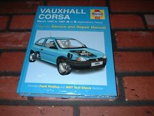 NEW VAUXHALL CORSA HAYNES MANUAL.1993-1997. K TO R REGISTRATION.