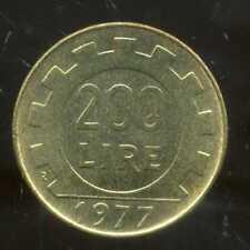 ITALIE 200 lire  1977