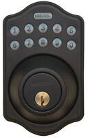 LockState Keyless DB500 RUBBED BRONZE Electronic Deadbolt Lock