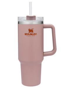 Stanley Adventure Quencher Travel Tumbler Straw Cup 40oz STRAWFLOWER  FAST SHIP!