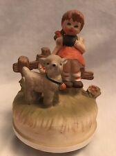 music box carousel-Mary Had A Little Lamb