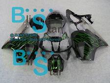 Green Flames Fairing For Fit HONDA VTR1000 RVT RC51 SP1 SP2 2000-2006 24 C3
