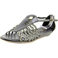 Sandali e scarpe nere tessile New York per il mare da donna