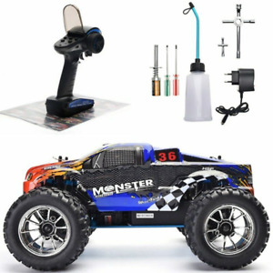 RC Truck Nitro Gas Powerer 1:10 4WD High Speed Rc Car Off Road Monster Truck NEW