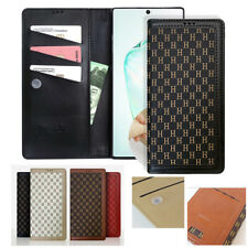 For Galaxy Note20 / 10+, S10 S20+ Ultra Case Folio Slim Flip Wallet Cover focus