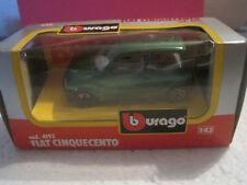 BURAGO 1/43 SUPERBE FIAT CINQUECENTO 1/43  BON ETAT n°4193