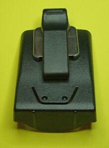 GP344 radio holster with sprung belt clip