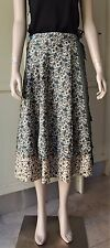 Tree of Life Two Layered Wrap Skirt Boho Hippie Reversible One Size Fit All